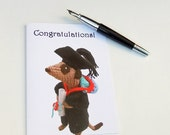 meerkat graduation card, congratulations,  college, university, school, graduate, meercat