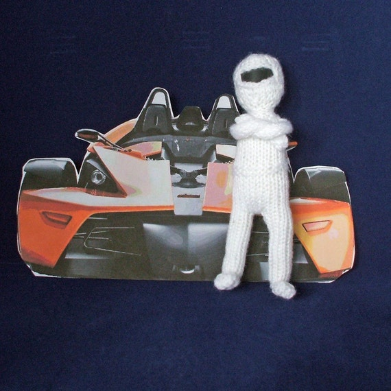 the STIG from Top Gear  handmade in UK