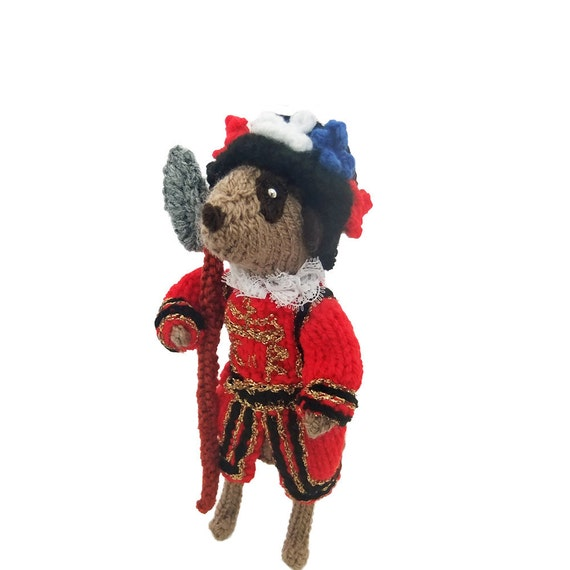 Meerkat Beefeater, Guard from Tower of London, Yeoman Warder, Queen Elizabeth, Crown Jewels, St Georges Day