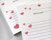 """Made with Love 4 x 6"""" Recipe Cards"""