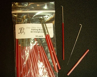 Felting Needles -  size 32 Triangle