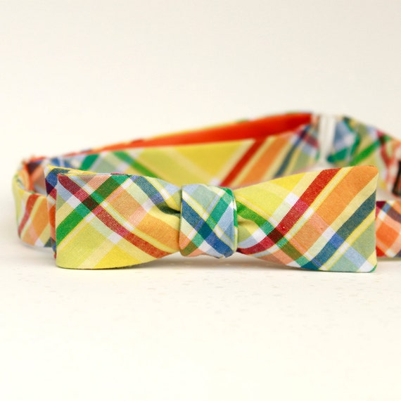 black friday/cyber monday sale-summer sun freestyle batwing bow tie