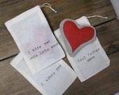 Custom Linen Love Note