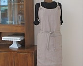 The Simplicity Apron in Linen
