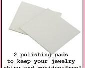 Jewelry Polishing Pad - Super Fine Grit Square to Clean Jewelry, E. Ria Designs