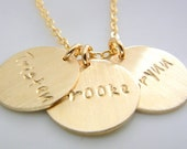 Gold Name Necklace, Gold Name Charms, Name Charm Necklace, Custom Charm Necklace, Gold Name Jewelry, Personalized Necklace Custom Gold Charm