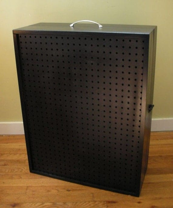 custom for jilleysue portable pegboard display by johnkwarner. Black Bedroom Furniture Sets. Home Design Ideas