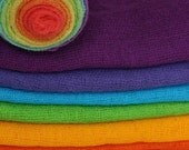 Play Cloth Set in the colours of the rainbow to inspire the imagination
