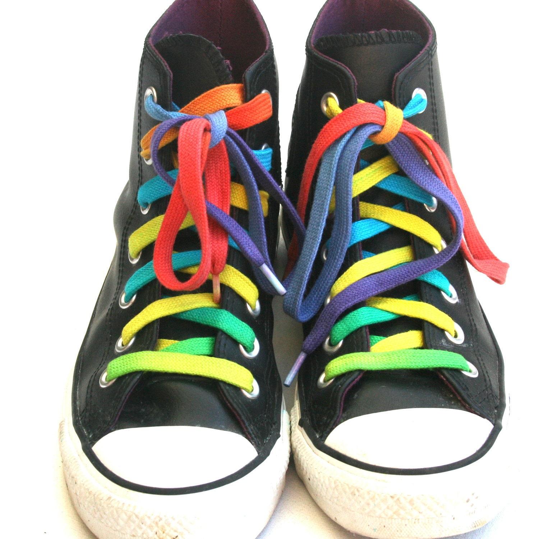 Rainbow Shoelaces-Extra Long