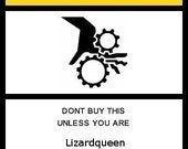 Reserved Listing for LizardQueen for 9 photo prints