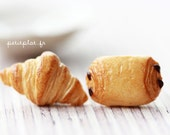 Croissants Earrings / Studs - Food Jewelry - Paris Collection