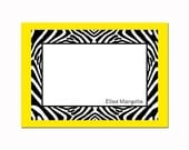 Zebra Print Note Cards (Set of 10)