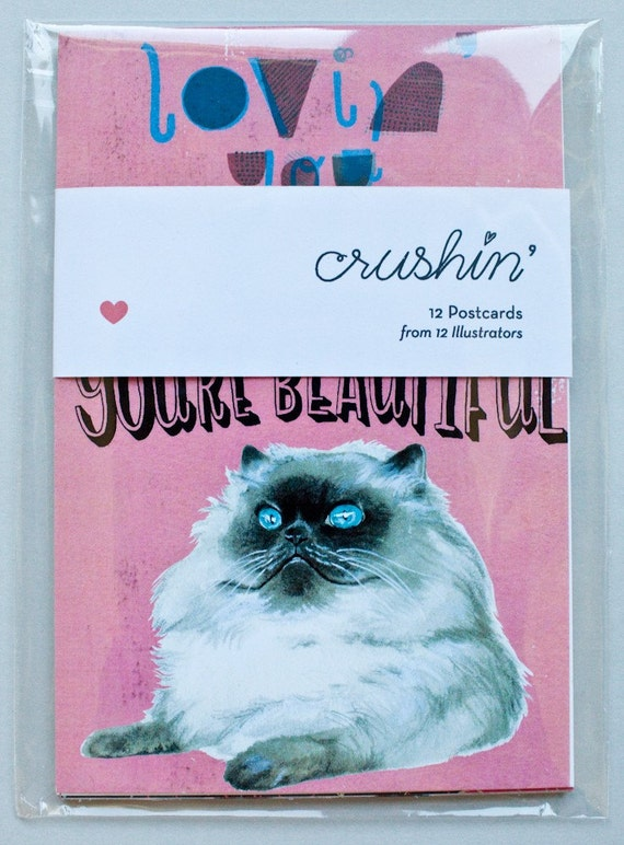 Crushin' Valentines:12 Postcards by 12 Illustrators