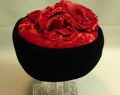 Fantastic Black Velvet Abigail Aldridge Hat