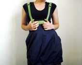 Skirt with suspenders customized