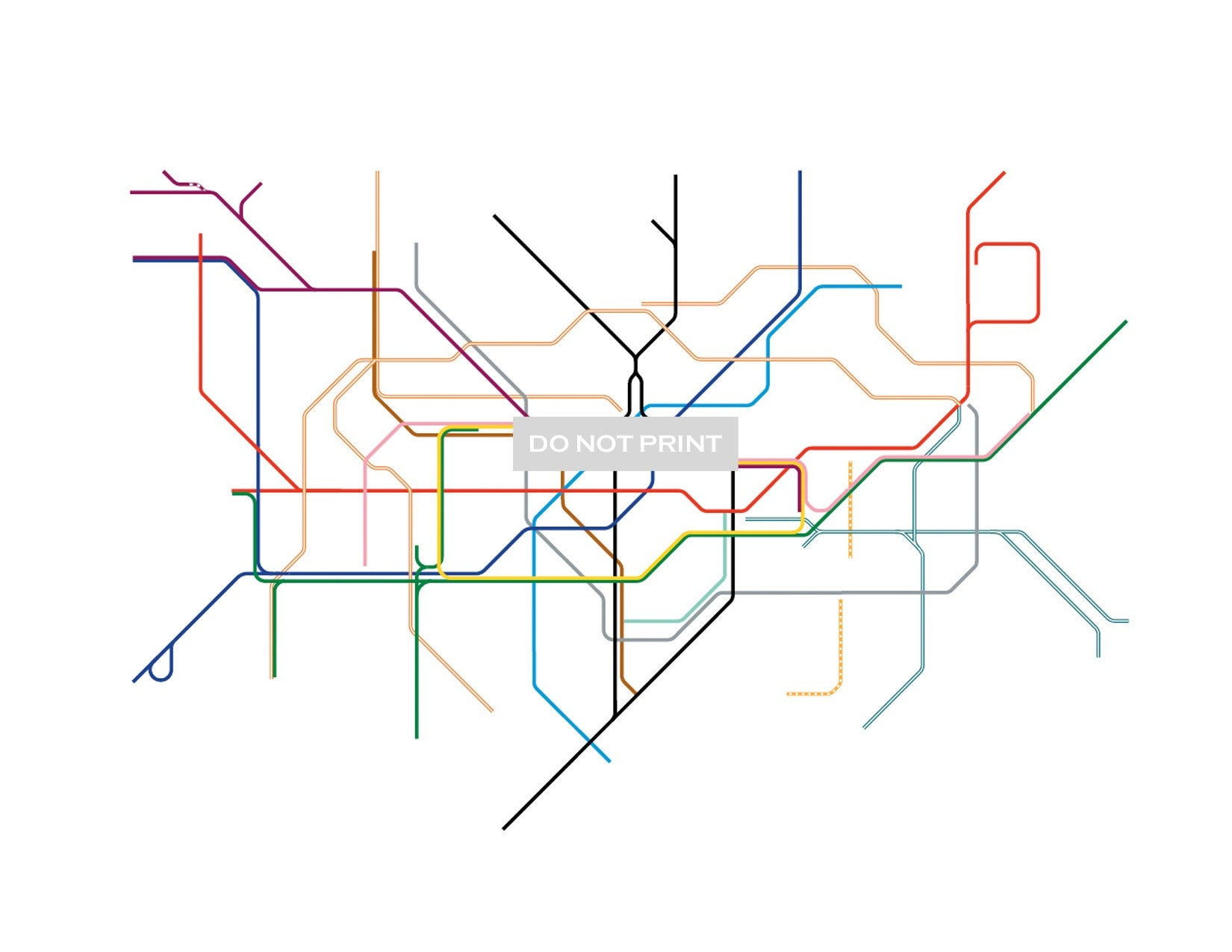 Line Art Map : Subway map art imgkid the image kid has it