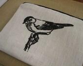 Bird purse/cosmetic bag
