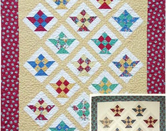 PDF Pattern  Berry Basket Quilt  fun and easy to make