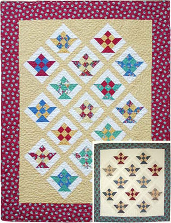 New Berry Basket Quilt  fun and easy to make