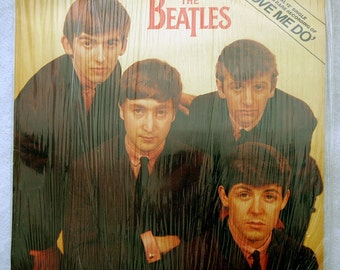 """FREE SHIPPING 1982 Played Once - The Beatles Love Me Do 12"""" Vinyl Single"""