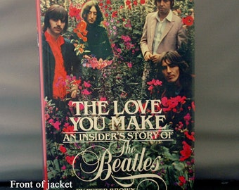 FREE SHIPPING 1983 (With Poster) The Love You Make - An Insider's Story of The Beatles