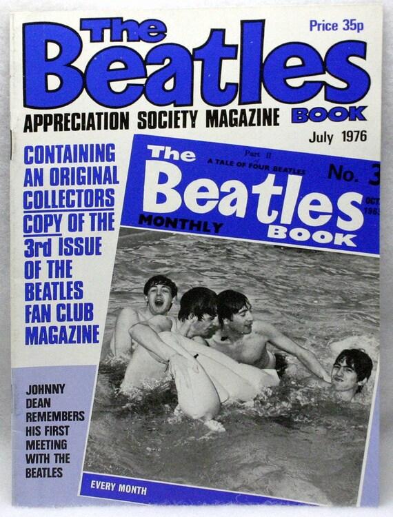 1976 The Beatles Book Appreciation Society Magazine - July 1976