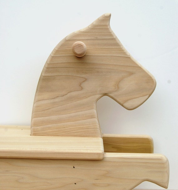 Rocking Horse wooden toy kids toy safe toy