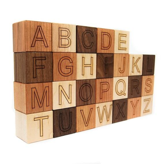 Sale discontinued font wooden alphabet blocks