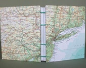 New York / Connecticut / Rhode Island / Massachusetts / Pennsylvania Travel Journal with Lined Pages by PrairiePeasant
