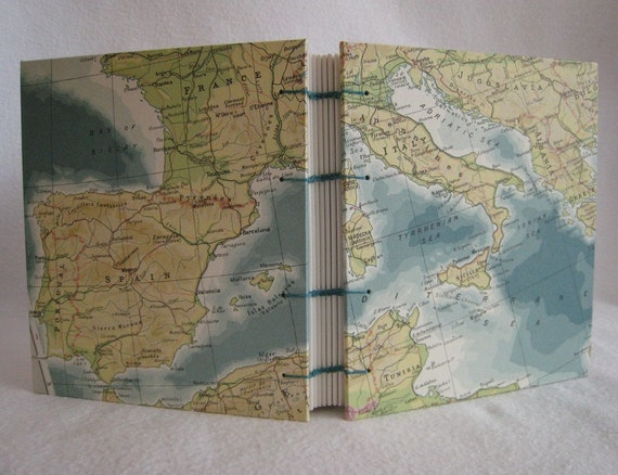 Mediterranean Travel Journal by PrairiePeasant