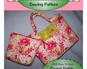 New - PDF- Easy to Sew Sweet Petite Purse and Pouch