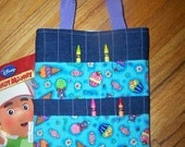 PDF - Easy to Sew Quilted Kid's Coloring Bag