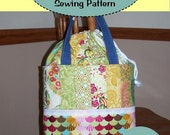 NEW PDF Easy to Sew Jellyroll Shop Hopper ExpandABLE Tote
