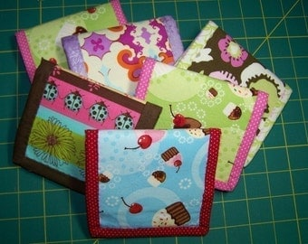 PDF Easy to Sew Tri-fold Wallet Pattern