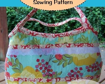 PDF Easy to Sew Not Your Granny's Granny Bag Sewing Pattern