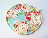 Patchwork Coasters - Cozy OOAK