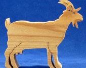 Cedar Milk Goat Cut-Out