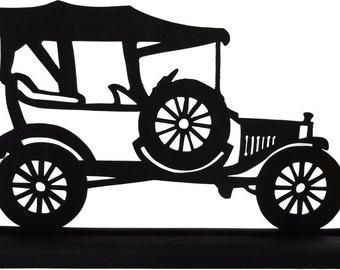 1915 Ford Model T Decorative Decor Wood Silhouette Decoration STRA009