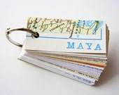 Personalized Notepad, Eco Friendly, Map