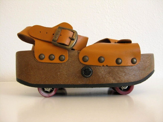 1970's Omnia'c Roller Skate Sandals - Italy (Size 5)