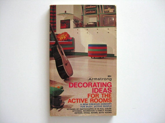 1967 Armstrong Decorating Ideas for the Active Rooms