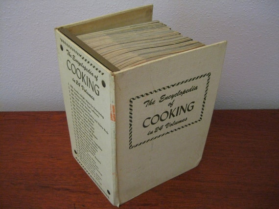1950's Encyclopedia of Cooking in 24 Volumes (Culinary Arts Institute) Over 7,000 Recipes
