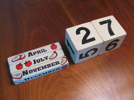 Apple Perpetual Calendar Blocks