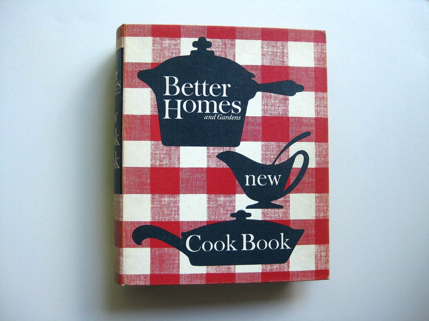 1962 Better Homes And Gardens New Cookbook