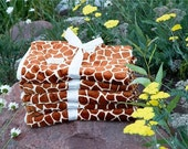 Baby Blanket Giraffe Print Luxuriously Soft