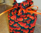 Kleenex Box Cover Pumpkin Fabric