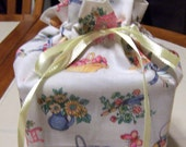 Spring Print Fabric Kleenex Tissue Cover