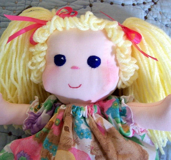 Sew Sweet Mandy Doll - 13 inches tall