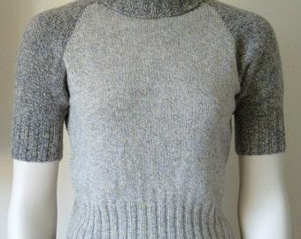 pdf pattern for a Long or Short Sleeved All-Age Raglan Sweater in Fingering yarn by Elizabeth Lovick - instant download