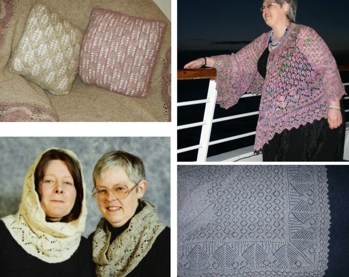 Starting Shetland Lace and Extra Patterns for Shetland Lace  by Elizabeth Lovick - instant download